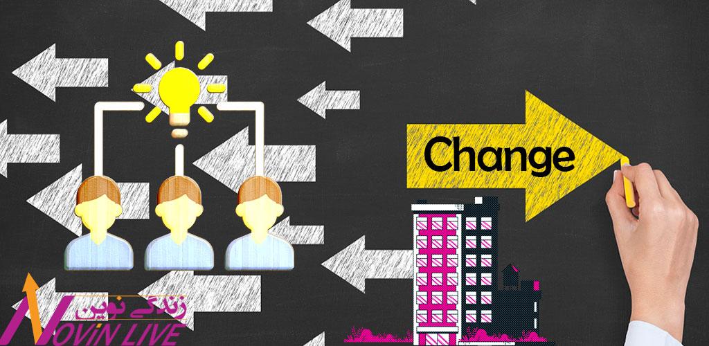مدیریت تغییر و تحول سازمانی- مدیریت تغییر سازمانی